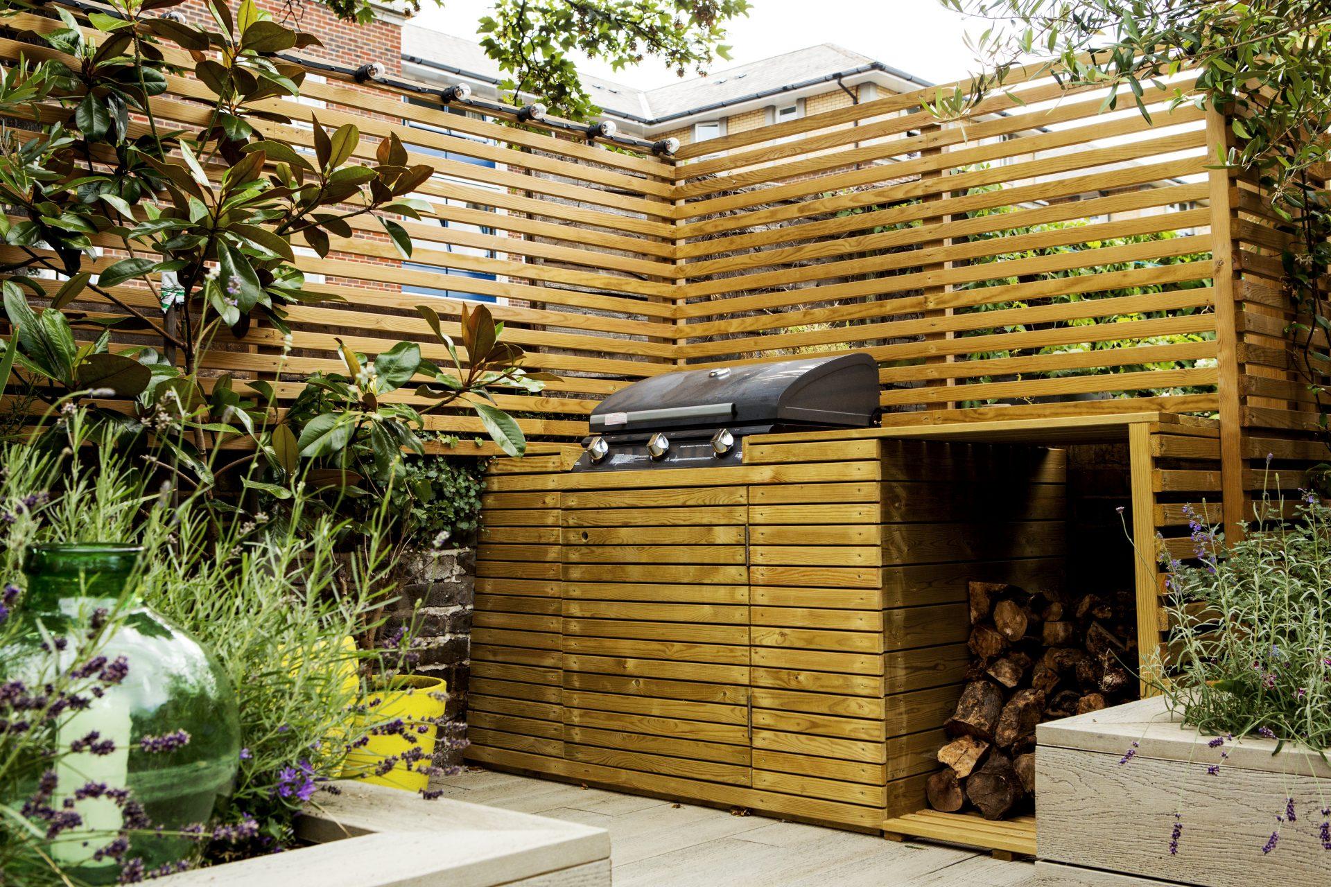 BBQ in garden