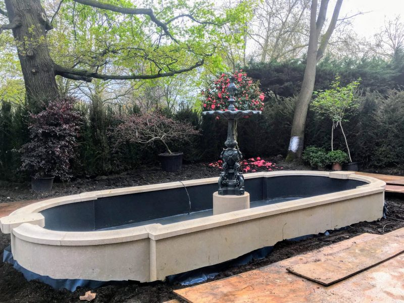 Water features landscaping